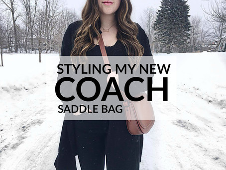 Signature Piece: Styling The Coach Saddlebag