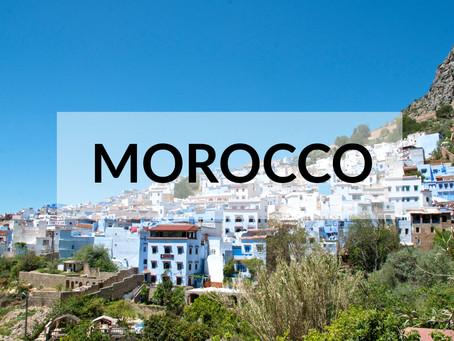 Feeling (not) blue in Morocco
