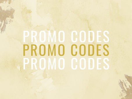 Promo codes: save some $