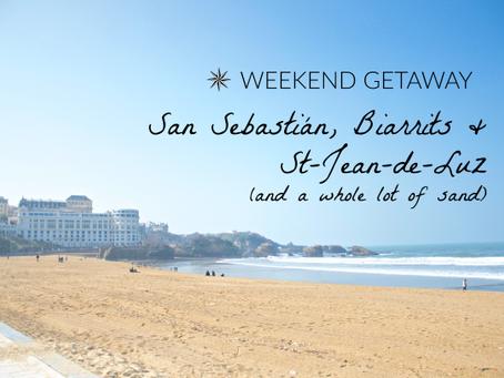 Weekend Getaway: San Sebastián, Biarritz, St-Jean-de-Luz and a whole lot of sand