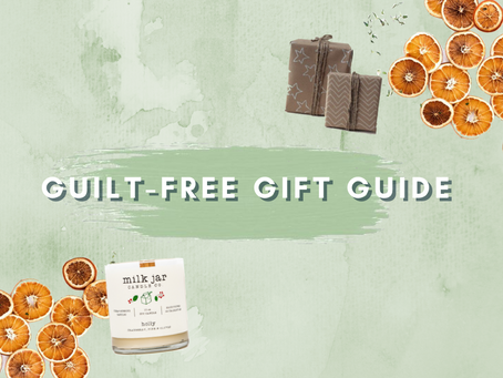 Guilt-Free Holiday Gift Guide