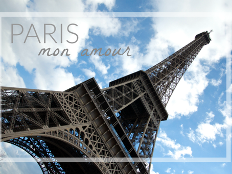 Weekend Getaway: Paris, Mon Amour