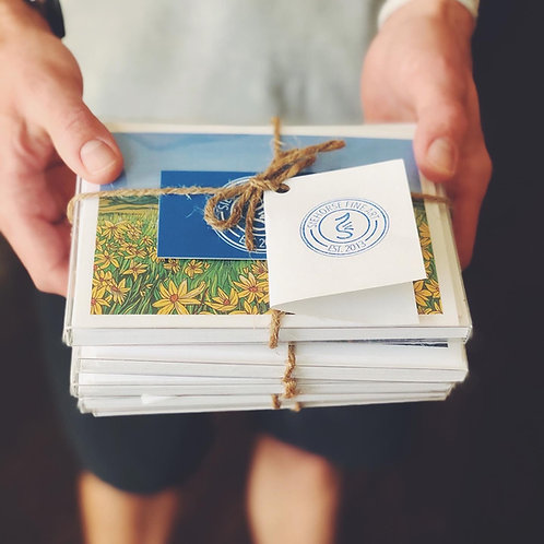NOTECARD BUNDLE - 2 SETS