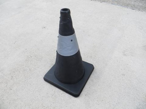 black collapsible cone