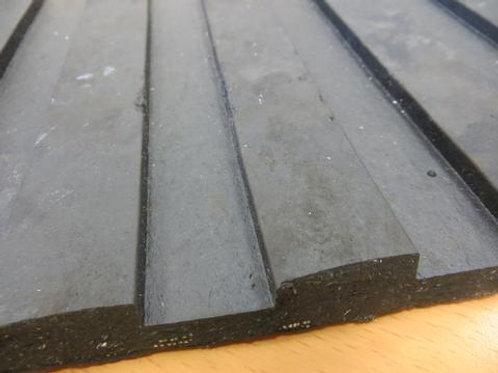 rubber matting on wooden floor