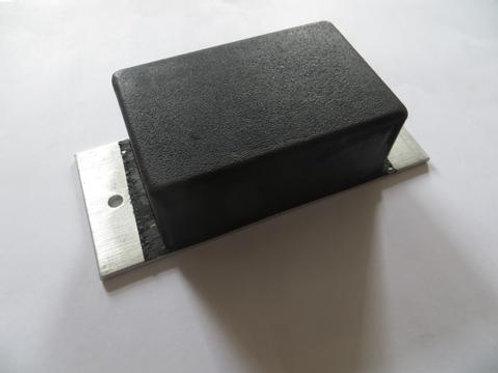 short tipper pad on concrete floor