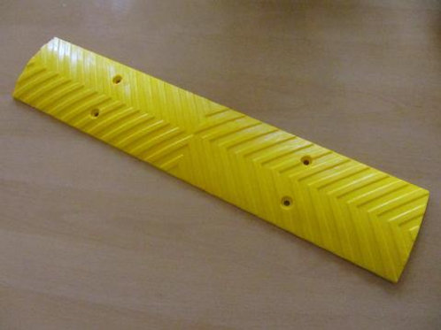 yellow plastic wall guard