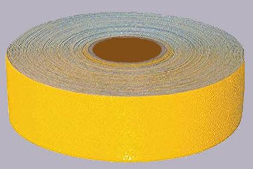 yellow reflective tape