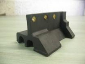 black rubber moulding