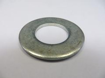 steel fixing ring on wooden table
