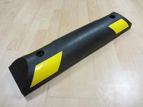 black and yellow chevron kerb