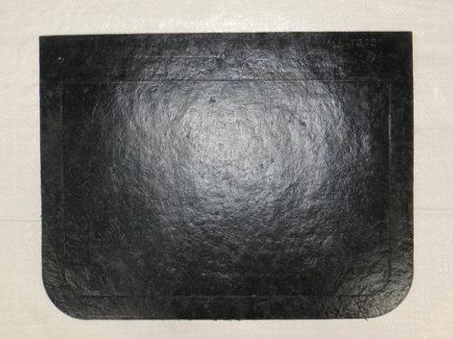 black rubber mud flap