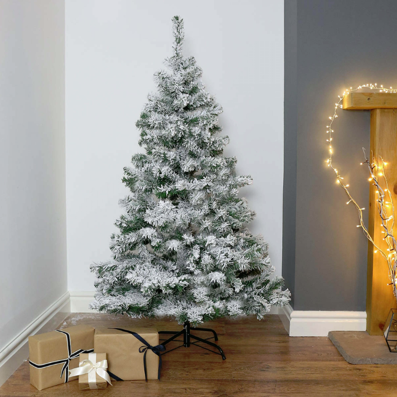 new product 6f470 3d0c2 Snow Coated Artificial 5FT Christmas Tree | festoonlighting