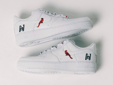 VA Force 1's - Insert Name Here Puts a Virginia Twist on the All White Air Force 1