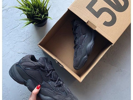 YEEZY Releases the 500 in Utility Black