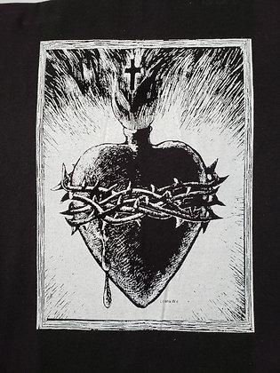 Sacred Heart T-shirt by Liliana Wilson