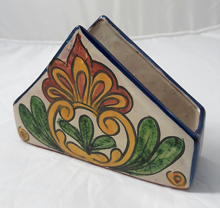 Ceramic Mexican Napkin Holder
