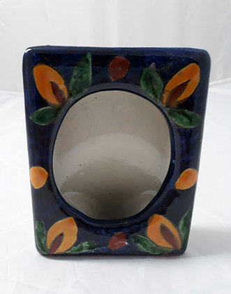 Ceramic Mexican Picture Frame