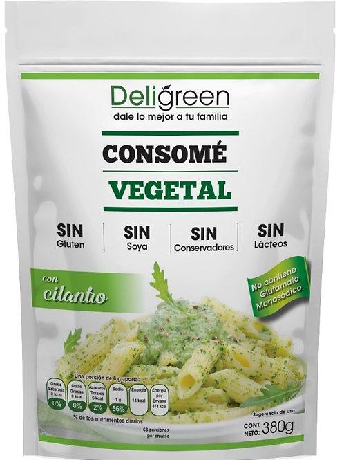 Consomé Vegetal con Cilantro