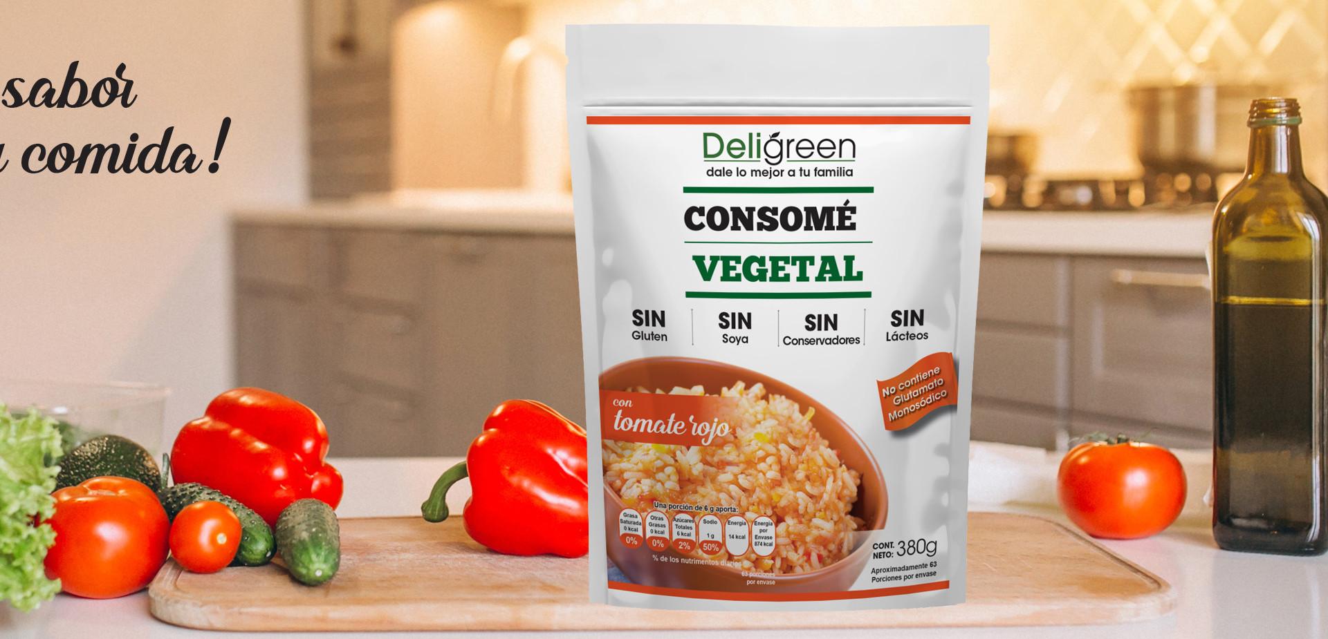 Consomé Vegetal con Tomate
