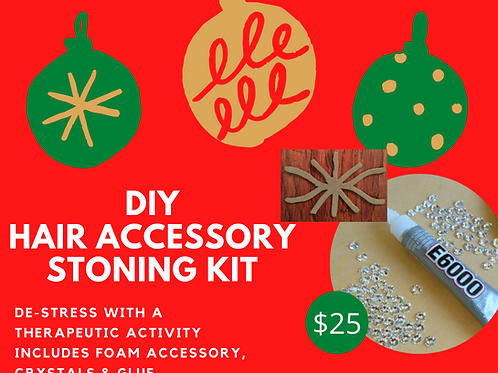 DIY Hair Accessory Stoning Kit