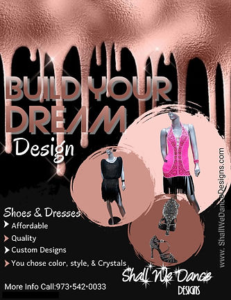 Build Your Dream Shoe - Made with Poster