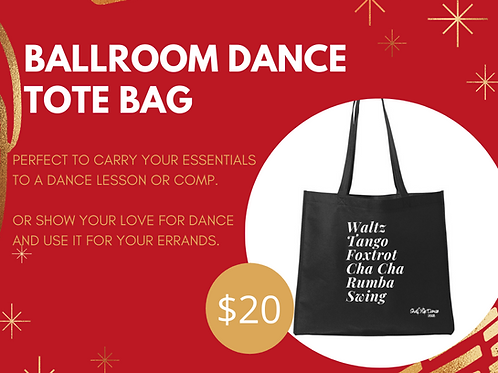 Ballroom Dance Tote Bag