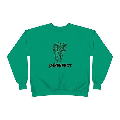 Let 'Stalk about Celery Crewneck Sweatshirt - Black Outline