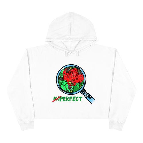 The Rose Crop Hoodie - Full Color