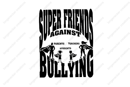 Youth Super Friends Cotton T-shirt