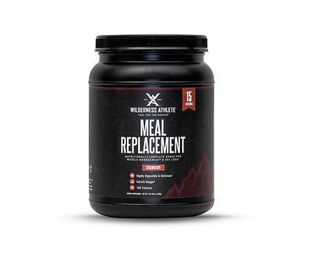 Meal Replacement Shake by Wilderness Athlete