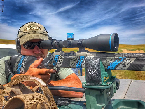 Huskemaw Blue Diamond Series 5-20X50 Long-Range Riflescope Matte Black