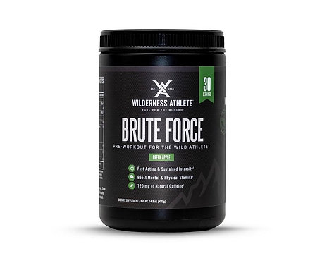 Brute Force Pre-Workout by Wilderness Athlete