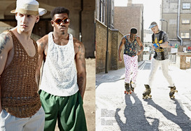 Roller Boys by Emma Woolrych for CHASSEU