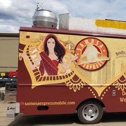 Full food truck wrap by 3M preferred installer