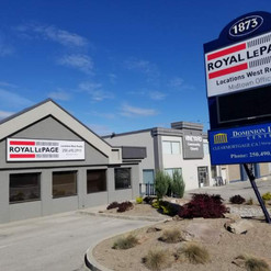 Royal LePage Signage for new building. Entrance sign and backlit pylon signage, fabricated and installed.
