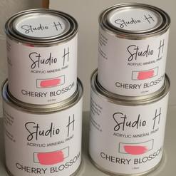 Large format labels for paint cans.