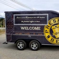 3M vinyl wrap for food truck