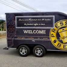 3M vinyl wrap for food truck