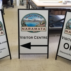 Large format printing services sandwich boards