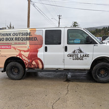 Chute Lake Van Wrap 2nd side by our 3M preferred installer.