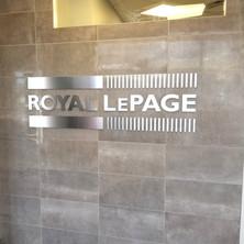 Custom designed, built and installed Real Estate signage