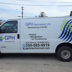 Graphic designing for GPH new fleet vehicle wrap and cut vinyl decals.