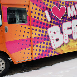 Food truck full wrap. Completed by our 3M preferred installer.