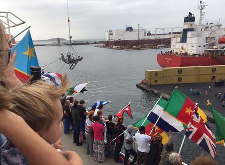 Goodalls Ahoy 08: Arrival in Senegal and Big News …