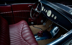 32 ford roadster leather