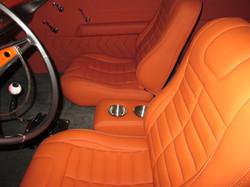 55 Chevy Custom Interior