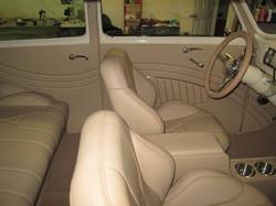 40 chevy Sedan Leather Interior