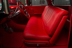 55 Nomad Red Leather
