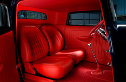 Red Leather 32 ford